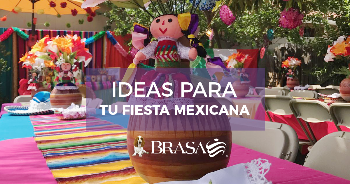 Brasa ideas para decorar tu fiesta mexicana - Ideas para decorar fiestas ...